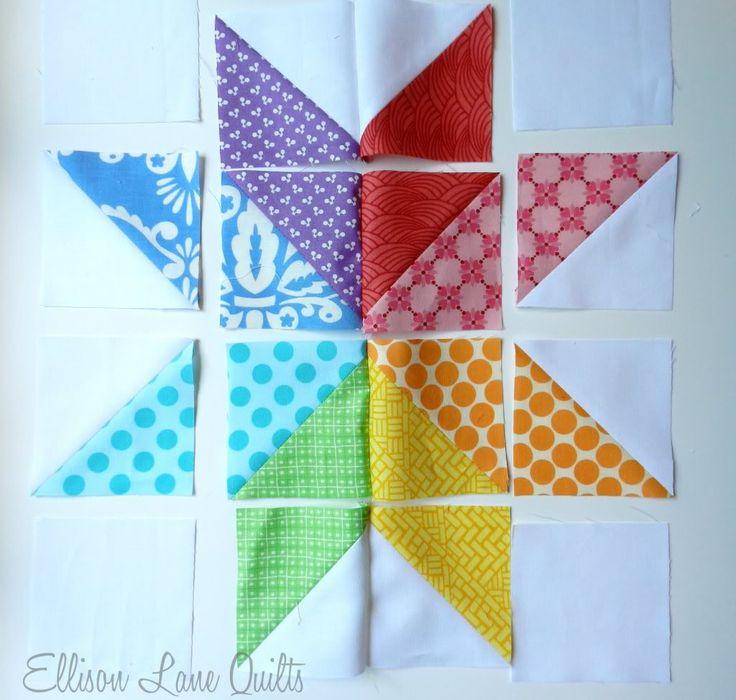 71 best images about quilting on Pinterest | Quilt, Patriotic ... : star flower quilt block pattern - Adamdwight.com