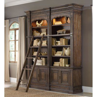 Hooker Furniture Rhapsody Library Bookcase - HOOK3734-1, Durable
