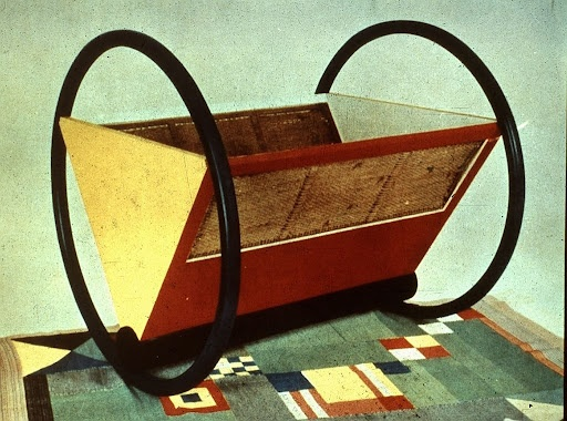 berceau designer Peter Keler / éditeur Ateliers du Bauhaus