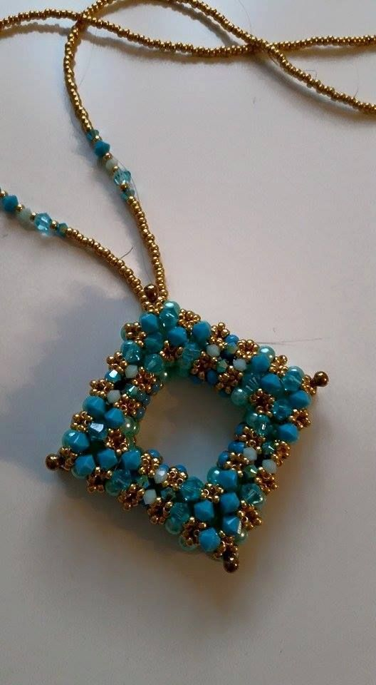 459 best beading pendants images on pinterest seed beads bead la plaza pendant beaded by nannette gotschling well done beautiful thank you for aloadofball Gallery