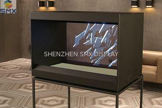 """Porcellana 32"""" tecnologia dell'immagine virtuale del deposito del cubo olografico in- innovatore di Holocube fornitore"""