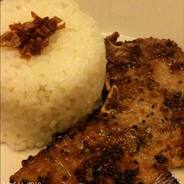 #porkchop #dinner #food #philippines