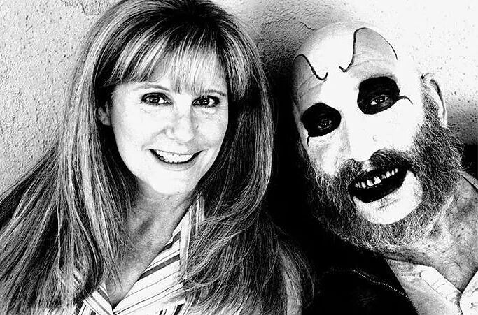 "PJ Soles and Sid Haig on set of ""The Devils Rejects"" 