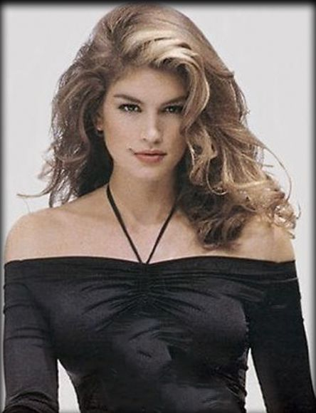 Cindy Crawford Hair Cindy Crawford Wavy Hair Cindy