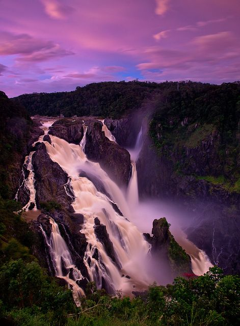 Barron Falls, Kuranda, North Queensland, Australia by jimslandscape's.        So much to see and do in and around Kuranda, enjoy the exquisite beauty of this region.      LET US INSPIRE YOU ~ DREAM, CONCIEVE, CREATE YOUR DREAM HOME.  eco@jumrum, the ultimate rural residential land release in North Queensland. www.ecojumrum.com