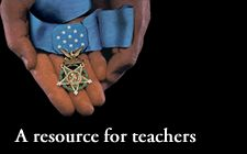Pinning this to spread the word about this character education program for middle and high school students based on medal of honor winners.
