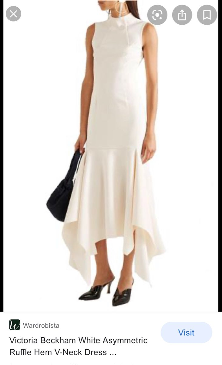 Victoria Beckham White Dress Evening Dresses Dresses White Dress [ 1200 x 732 Pixel ]