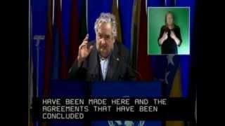 Intervención Presidente Mujica (presidente Uruguay) en Río+20
