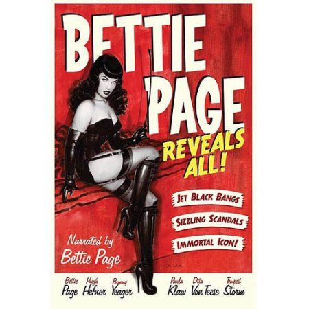 Bettie Page Reveals All (Blu-ray)