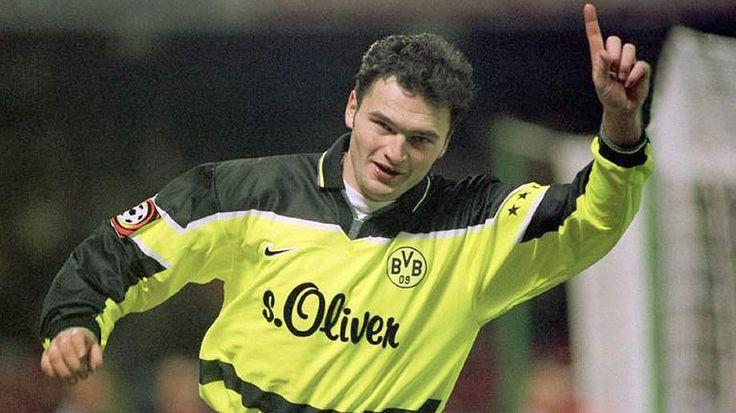 Stephane Chapuisat war eine zeitlang der torgefährlichste Ausländer der Bundesliga-Geschichte. Der Schweizer traf ingesamt 102 Mal für Borussia Dortmund. In seinen ersten 100 Spielen durfte der Angreifer 58 Mal jubeln. 1997 gewann er mit dem BVB die Champions League