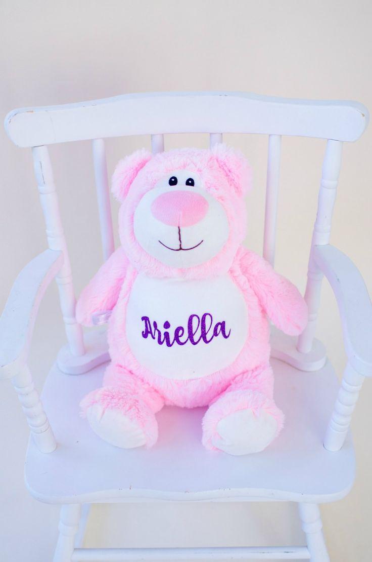 Personalized Pink Bear