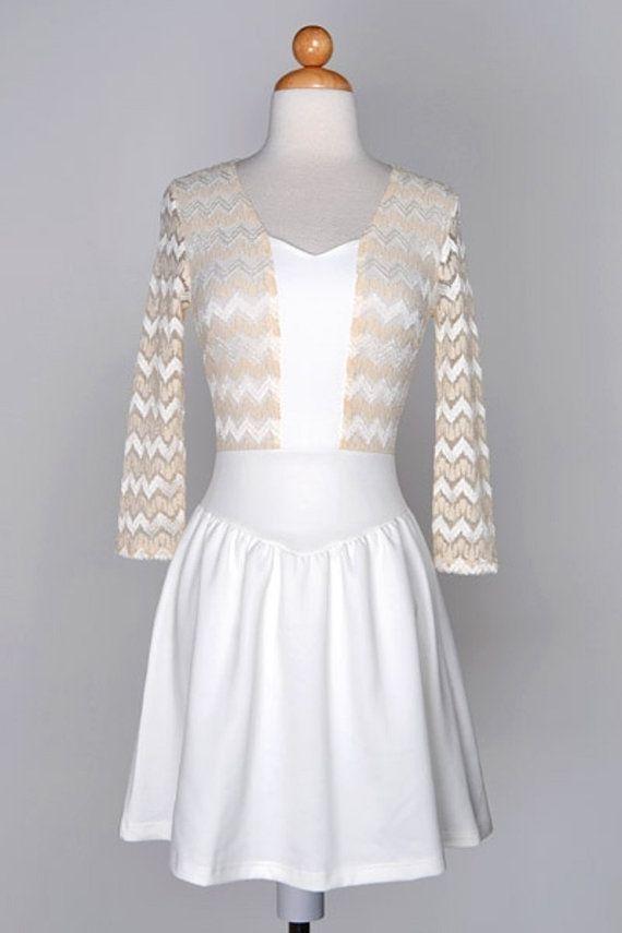robe missy robe grande taille robe blanche  par FASHIONJEWELRY7, $60.00