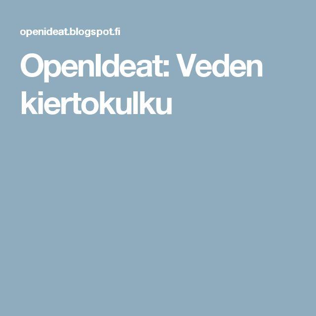 OpenIdeat: Veden kiertokulku