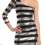 Vestidos cortos de noche metalizados  http://vestidoparafiesta.com/vestidos-cortos-de-noche-metalizados/: Dresses For, Vestidos De Fiestas Playa, Dresses, Burton Stripes, Stripes Dresses, Metals Stripes, Pink Dresses Yachao, Short Dresses