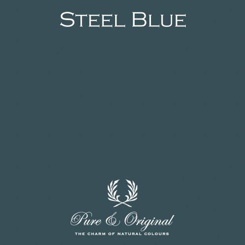 Pure and Original Chalk Paint Lime Paint Krijtverf Kalkverf Steel Blue