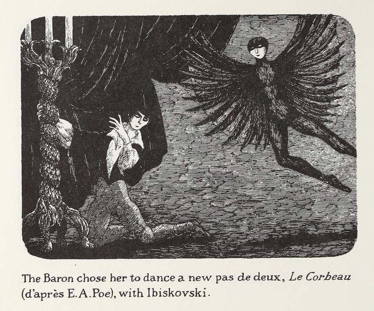 from The Gilded Bat by Edward Gorey Edward gorey, Art