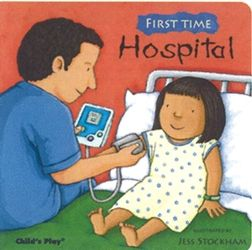 Great read if your child needs to be hospitalized.  Also a great idea to read to your kids in the event they have to go to the hospital so they know we are here to help!