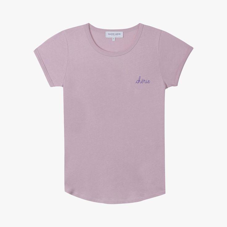 Tee-shirt Chérie - MAISON LABICHE - Find this product on Bon Marché website - Le Bon Marché Rive Gauche