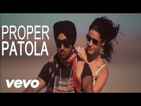Diljit Dosanjh - Diljit Dosanjh Proper Patola feat. Badshah Full Video ft. Badshah - YouTube