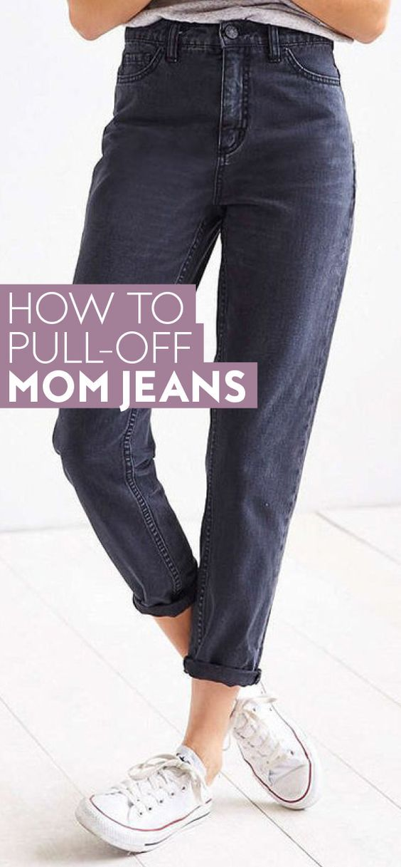 Swap out your traditional skinny jeans for these cool girl mom jeans. #momjeans #bestjeans #vintagejeans #vintage
