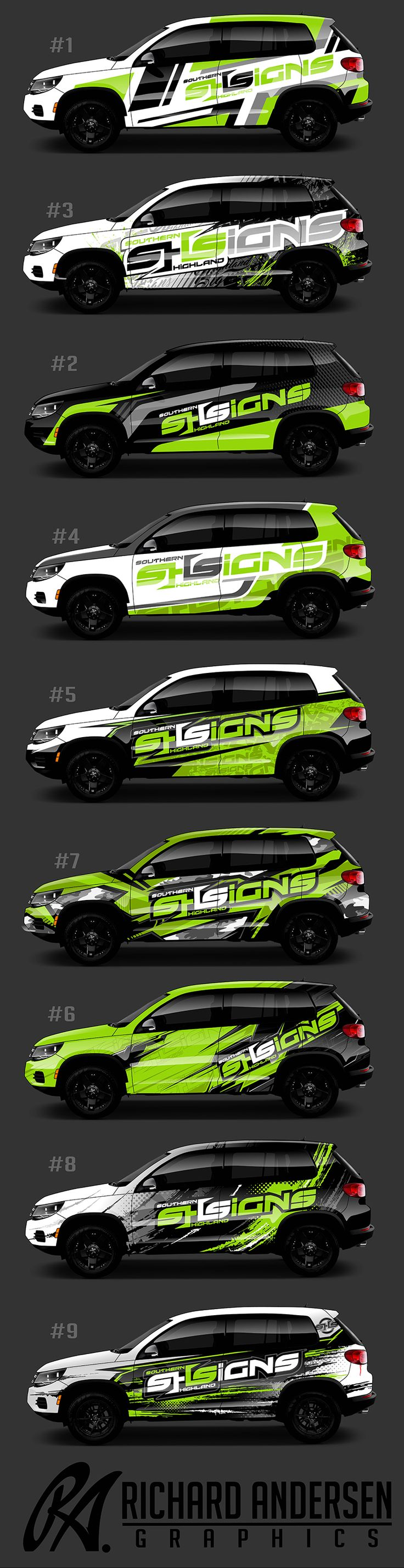 Richard Andersen Wrap designs http://ragraphics.carbonmade.com/                                                                                                                                                     More