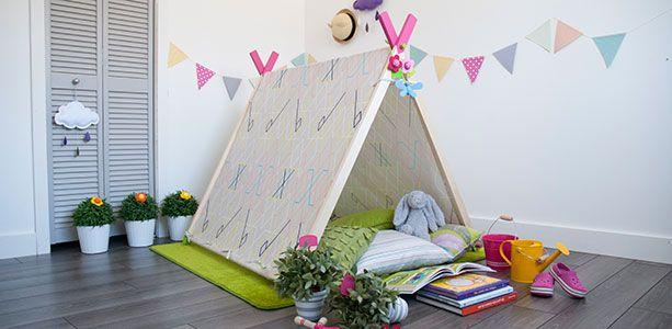DIY: une tente pour les enfants | Décormag