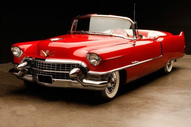 Cadillac Series 62 Convertible Coupe, 1954.