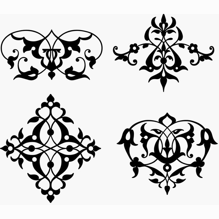 Turkish ornament pattern 3