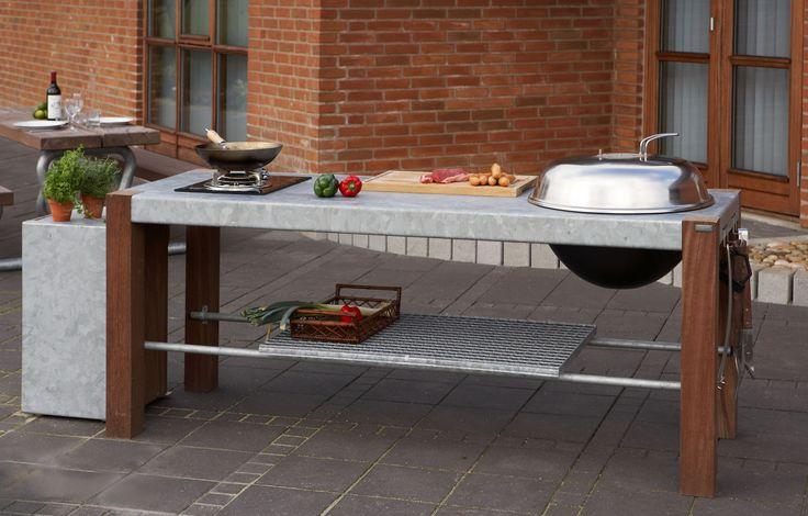 Savra by Thors Design. Grill and barbecue, udendørs køkken, outdoor kitchen