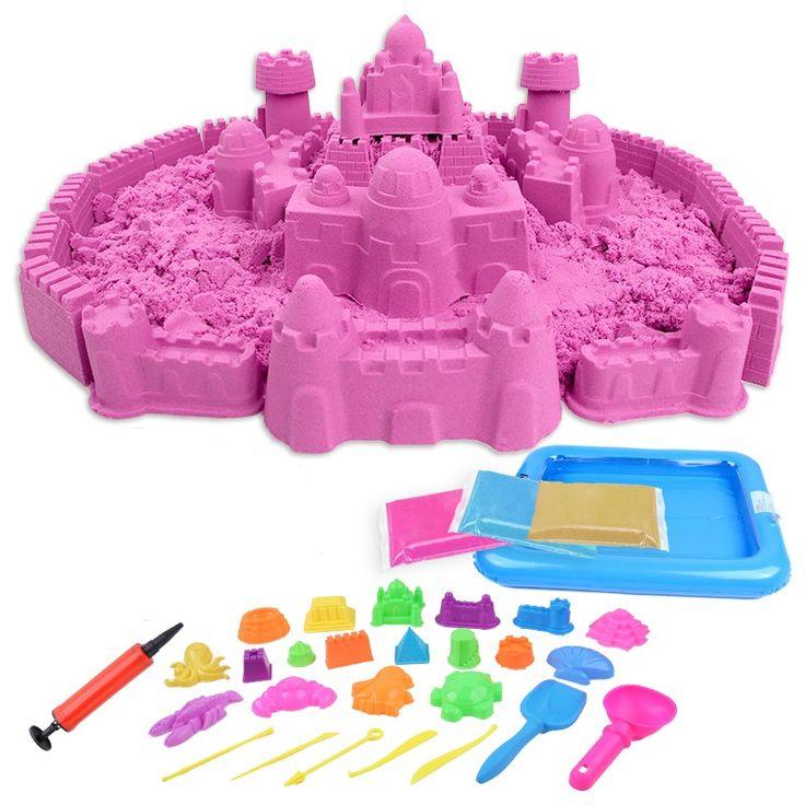 Горячая распродажа 1000 г и формы динамический удивительные DIY развивающие игрушки нет - беспорядок в помещении магия игра песок детские игрушки марс пространство песка #shoes, #jewelry, #women, #men, #hats, #watches, #belts