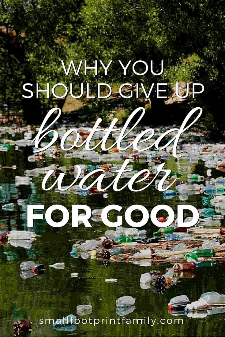 It takes 3 liters of water to make 1 liter of bottled water, plus 17 million barrels of oil per year. It's time to stop this incredibly destructive habit.