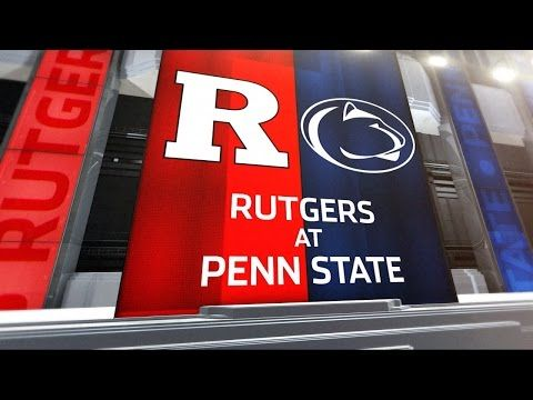Penn State at Rutgers - Football Highlights - YouTube