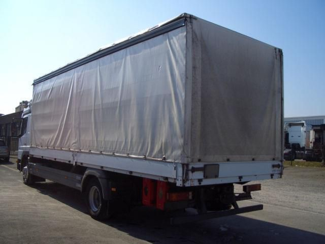 Mercedes-Benz Atego 1528 L Edscha, Euro 4, L Haus,, Truck Flatbed + tarpaulin in Dortmund, used buy on AutoScout24 Trucks