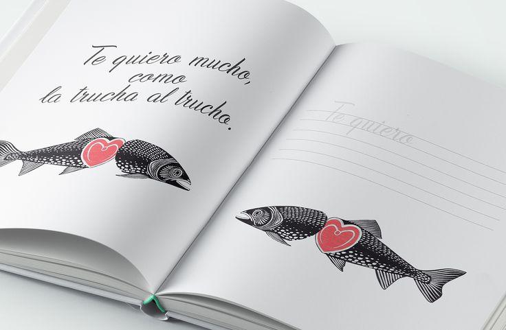 Libro caligrafía creativa Rubio - Lettering - Cuadernos Rubio