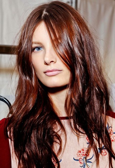 long hair style trends | Long Winter Hairstyles 2013 For Women Women Hairstyles Trends ...