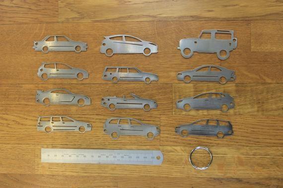 Ford Fiesta St Key Chain Volvo 740 Volvo V70