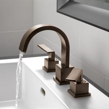 17 best images about faucet favorites on pinterest wall mount brushed nickel and stove - Bathrooms for all tastes ...