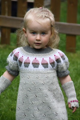 Puslespillbrikker: Cupcake-kjole