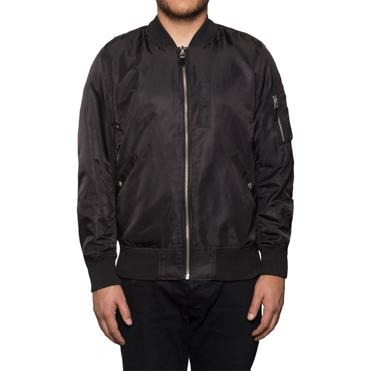 MA-1 BOMBER JACKET SP16 // BLACK