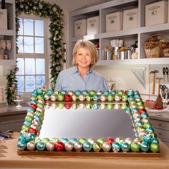 Como decorar espejos para Navidad » http://decoracionnavidad.net/como-decorar-espejos-para-navidad/