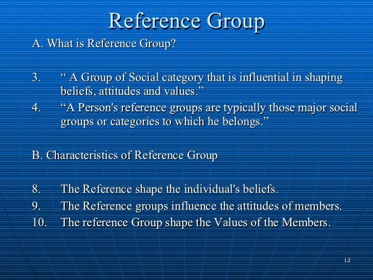 reference group sociology - Google Search
