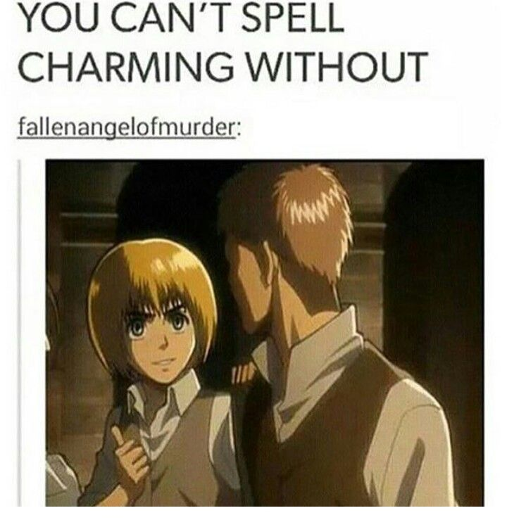 Dat fave tho Armin is Charming