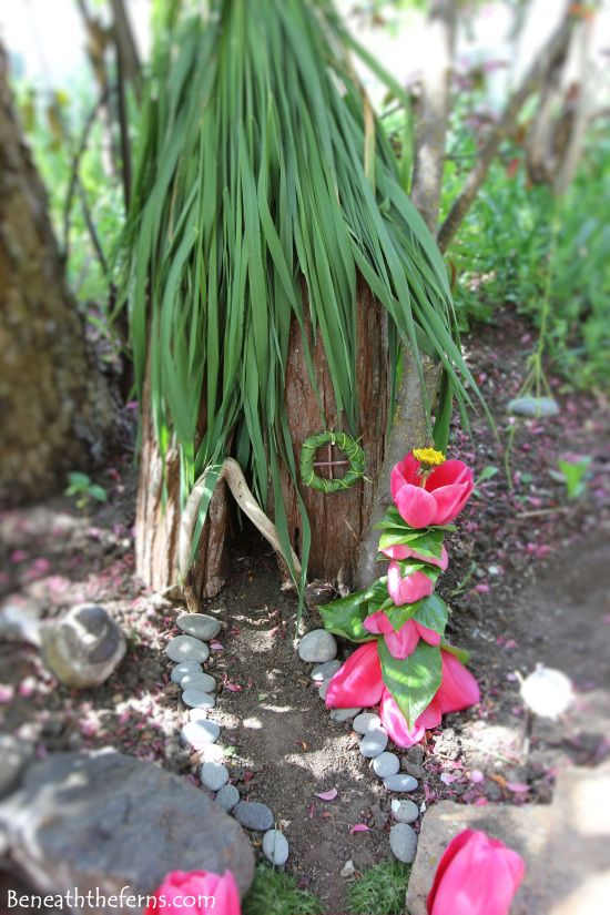 Fairy garden houses miniature how to tutorial