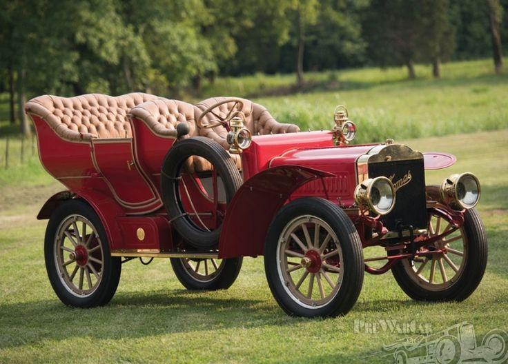 1905 Thomas Flyer  Five-Passenger Touring - (edwardian era, transportation, cars)