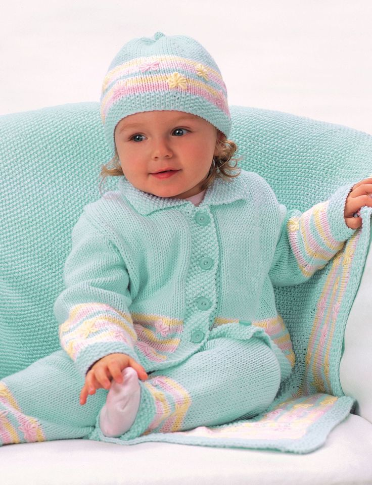 Patons Knitting Patterns Baby Blankets : 17 Best images about Knit?Baby?Sets on Pinterest Baby hats, Knitted baby an...