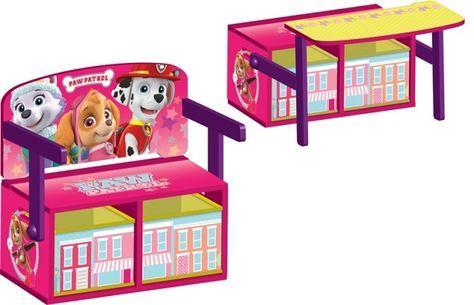 ESCRITORIO PAW PATROL ROSA - ESCRITORIOS PARA NIÑAS, IndalChess.com Tienda de juguetes online y juegos de jardin