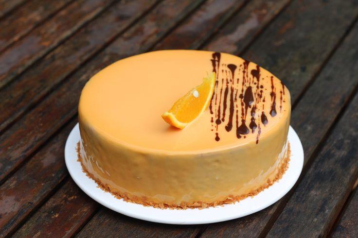 Муссовый торт «Апельсиновый трюфель»   HomeBaked