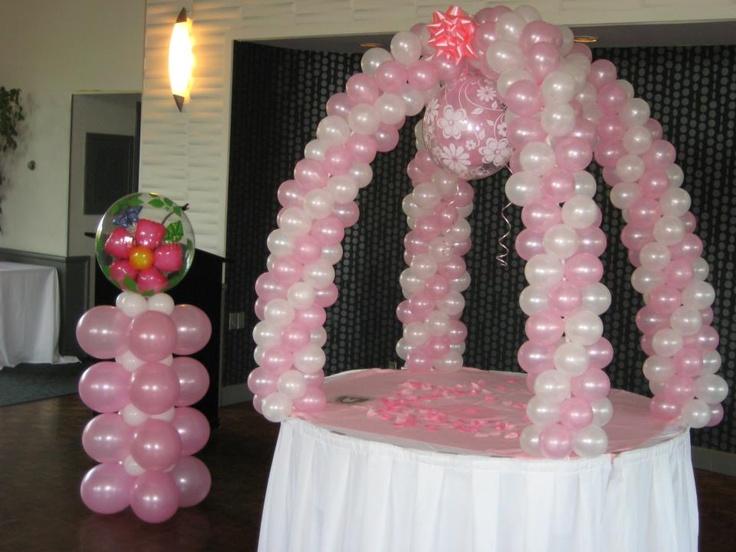 82 Best Balloon Table Arch Images On Pinterest Balloon