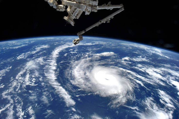 Danny – First Atlantic Hurricane of 2015 as Seen from Space Station by Scott Kelly