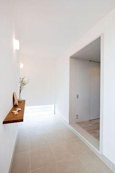 グレーのトンネル空間・間取り(愛知県高浜市) | 注文住宅なら建築設計事務所 フリーダムアーキテクツデザイン